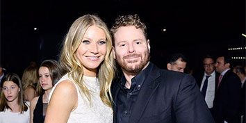 Gwyneth Paltrow and Sean Parker