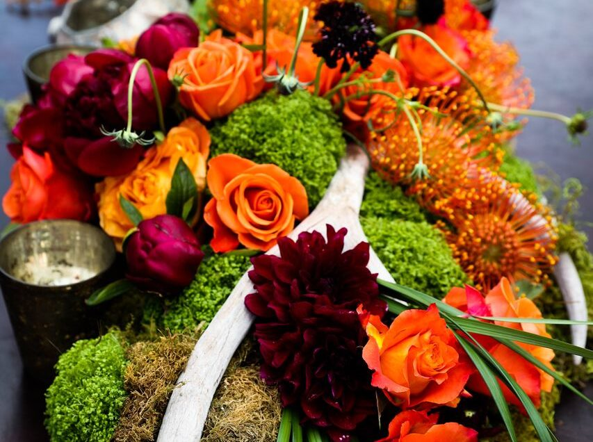 Autumn in Spring: Recreating the Seasons for Your Special Day